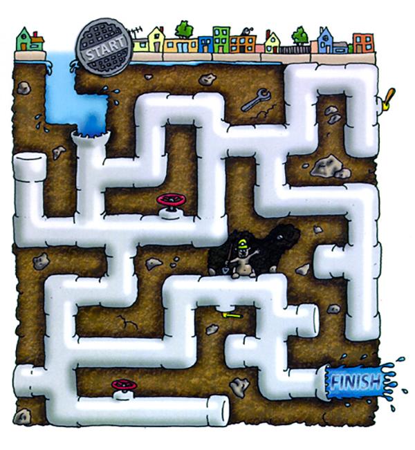 APWA Rainwater Kids Maze