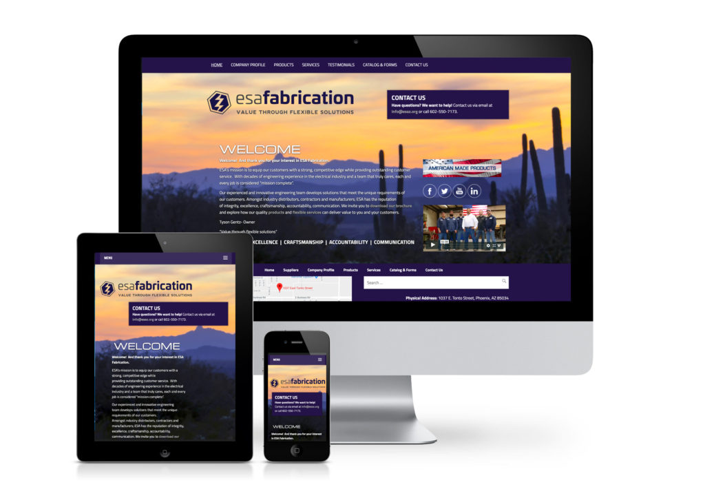 ESA Fabrication Website