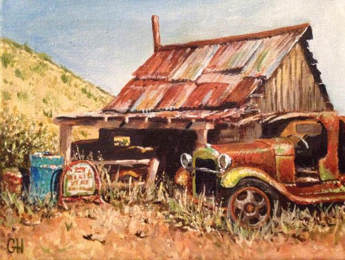 Gold King Mine by Graeme Hunt