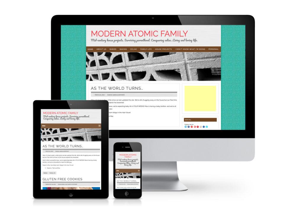 Modern Atomic Family Website