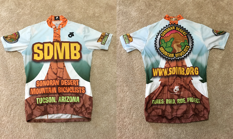 Sonoran Desert Mountain Bicyclists Jersey