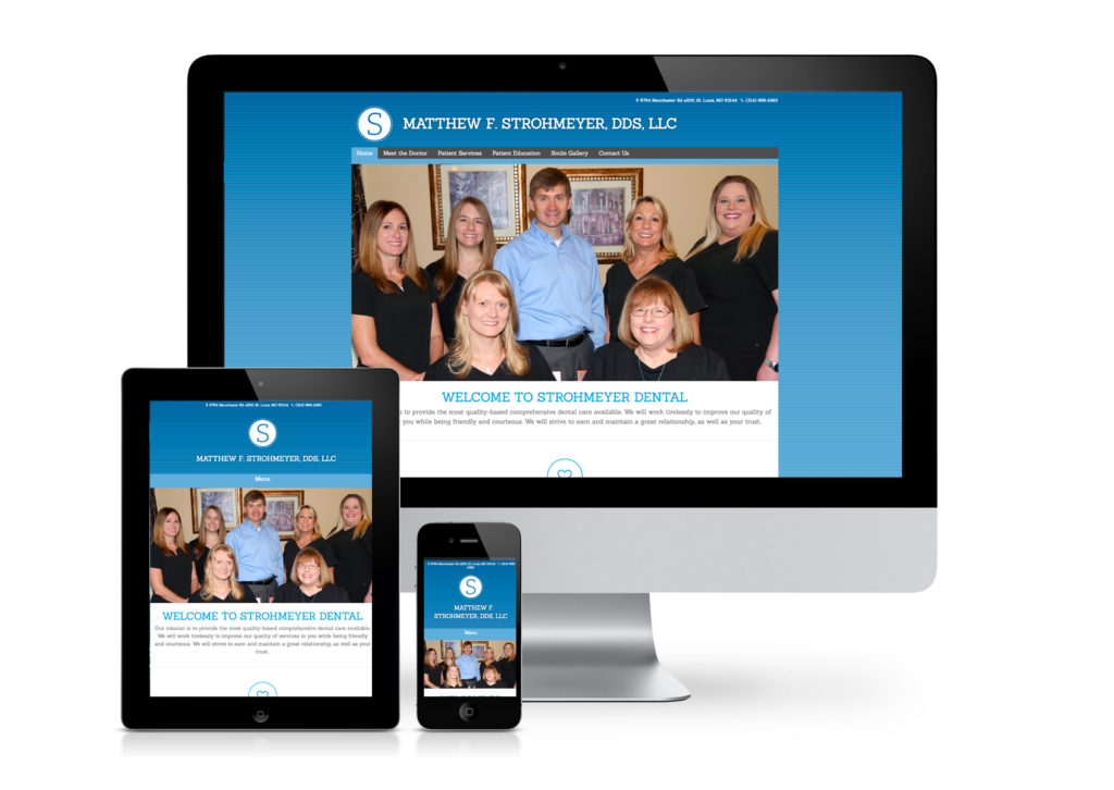 Strohmeyer Dental Website