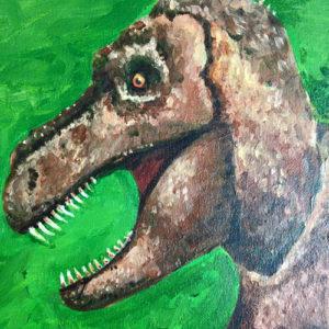T-Rex by Graeme Hunt