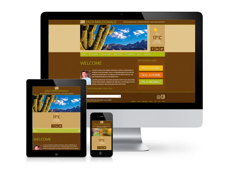 Zach MacDonald Realty Website