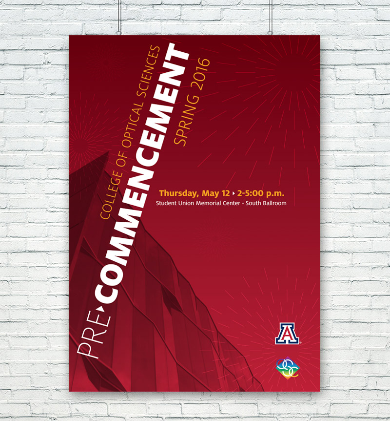 UofA OSC Spring Commencement Poster